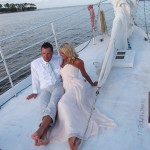 wedding sailing trip